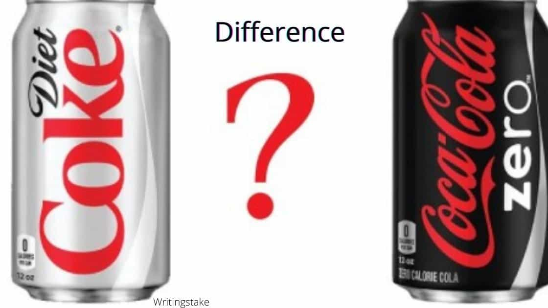 What is the difference between diet coke and Coke zero?